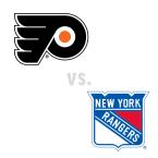 Philadelphia Flyers at New York Rangers