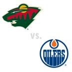 Minnesota Wild at Edmonton Oilers