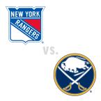 New York Rangers at Buffalo Sabres