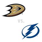 Anaheim Ducks at Tampa Bay Lightning