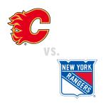 Calgary Flames at New York Rangers