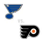 St. Louis Blues at Philadelphia Flyers
