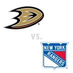 Anaheim Ducks at New York Rangers