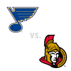 St. Louis Blues at Ottawa Senators