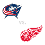 Columbus Blue Jackets at Detroit Red Wings
