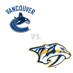 Vancouver Canucks at Nashville Predators