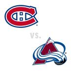 Montreal Canadiens at Colorado Avalanche