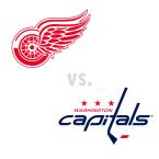 Detroit Red Wings at Washington Capitals