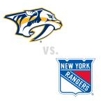 Nashville Predators at New York Rangers
