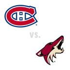 Montreal Canadiens at Arizona Coyotes