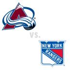 Colorado Avalanche at New York Rangers