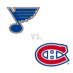 St. Louis Blues at Montreal Canadiens