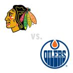 Chicago Blackhawks at Edmonton Oilers