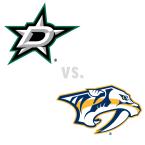 Dallas Stars at Nashville Predators