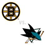 Boston Bruins at San Jose Sharks