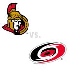 Ottawa Senators at Carolina Hurricanes