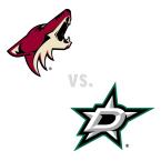 Arizona Coyotes at Dallas Stars