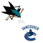 San Jose Sharks at Vancouver Canucks