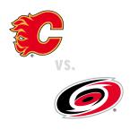 Calgary Flames at Carolina Hurricanes