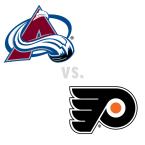 Colorado Avalanche at Philadelphia Flyers