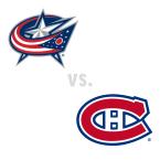 Columbus Blue Jackets at Montreal Canadiens