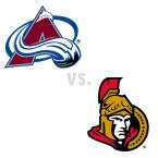 Colorado Avalanche at Ottawa Senators