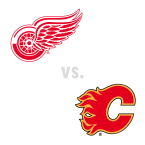 Detroit Red Wings at Calgary Flames