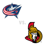 Columbus Blue Jackets at Ottawa Senators