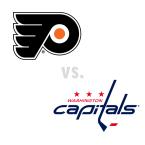 Philadelphia Flyers at Washington Capitals