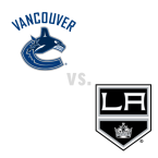 Vancouver Canucks at Los Angeles Kings