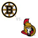 Boston Bruins at Ottawa Senators