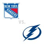 New York Rangers at Tampa Bay Lightning