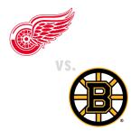 Detroit Red Wings at Boston Bruins