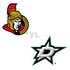 Ottawa Senators at Dallas Stars