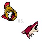 Ottawa Senators at Arizona Coyotes