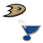 Anaheim Ducks at St. Louis Blues