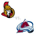 Ottawa Senators at Colorado Avalanche
