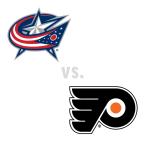 Columbus Blue Jackets at Philadelphia Flyers