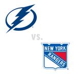 Tampa Bay Lightning at New York Rangers