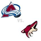 Colorado Avalanche at Arizona Coyotes