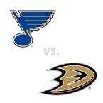 St. Louis Blues at Anaheim Ducks