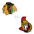 Chicago Blackhawks at Ottawa Senators