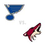 St. Louis Blues at Arizona Coyotes