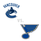Vancouver Canucks at St. Louis Blues