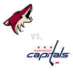 Arizona Coyotes at Washington Capitals