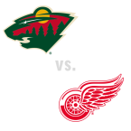 Minnesota Wild at Detroit Red Wings
