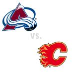 Colorado Avalanche at Calgary Flames
