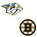 Nashville Predators at Boston Bruins
