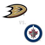 Anaheim Ducks at Winnipeg Jets
