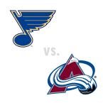 St. Louis Blues at Colorado Avalanche